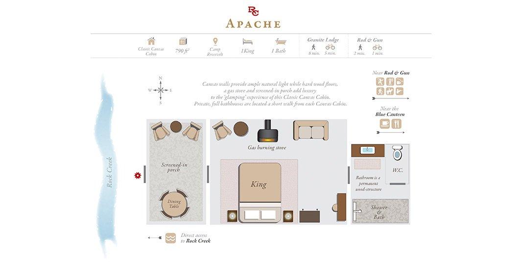 Apache Floor Plan Th The Ranch At Rock Creek