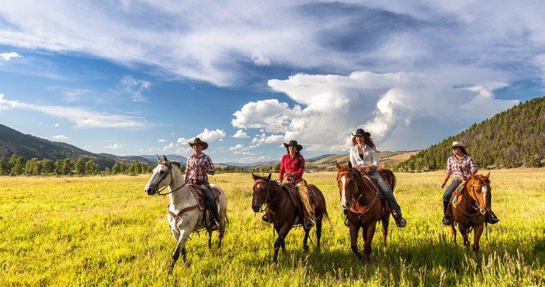 Luxury Dude Ranch In Montana