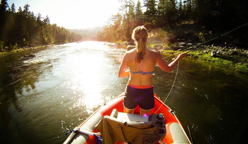 float-fishing