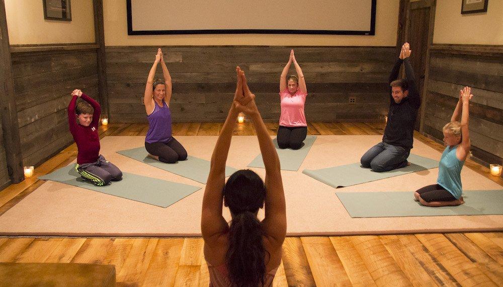 Family Yoga at The Ranch at Rock Creek