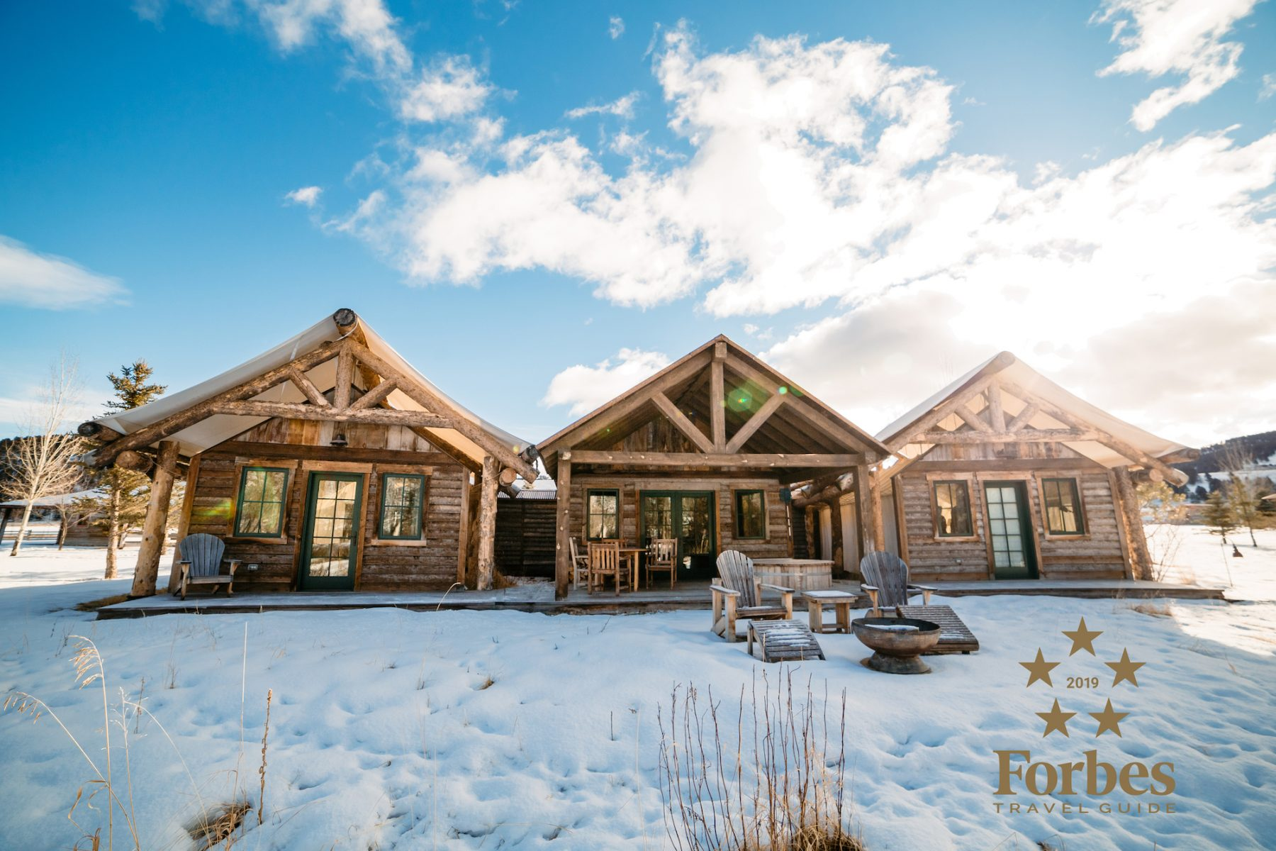 Cattail is one of the beautiful accommodations that helped earn The Ranch its sixth consecutive Forbes Travel Guide Five-Star award in 2019.