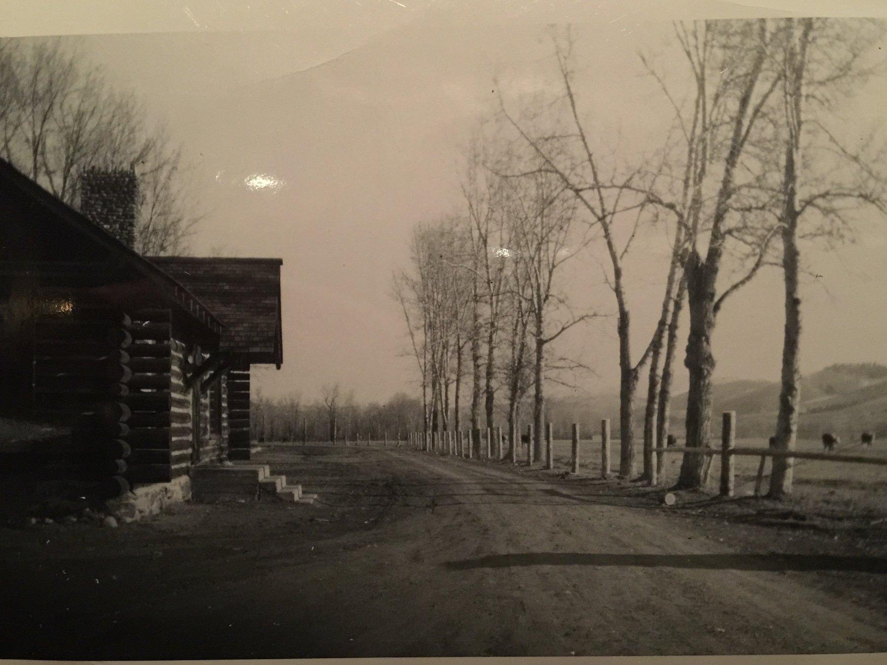 Original homestead at The Ranch at Rock Creek